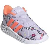 Zapatos Niños Zapatillas bajas adidas Originals Lite Racer 20 I Grises, De color naranja