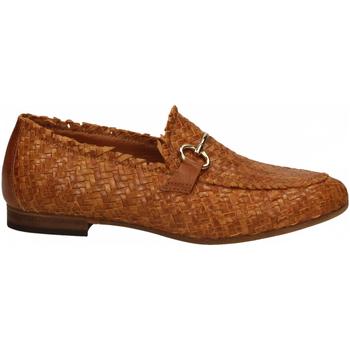 Zapatos Mujer Mocasín Mat:20 LENNY INTRECCIO cuoio