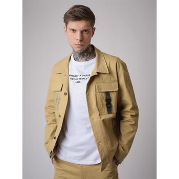 textil Hombre Chaquetas Project X Paris  Beige