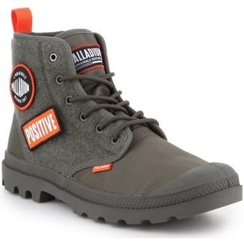 Zapatos Hombre Zapatillas altas Palladium Pampa HI Change U 76648-325-M oliwkowozielony
