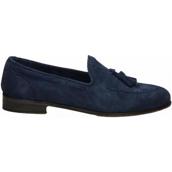 Zapatos Hombre Mocasín J.p. David CAPRA SCAMOSCIATO azzurro