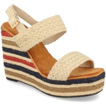 Zapatos Mujer Sandalias Milaya 5R8 Beige