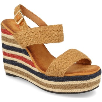 Zapatos Mujer Sandalias Milaya 5R8 Camel