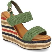 Zapatos Mujer Sandalias Milaya 5R8 Verde