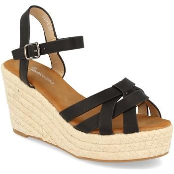 Zapatos Mujer Sandalias Festissimo F20-6 Negro