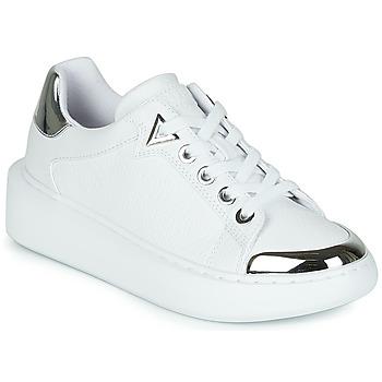 Zapatos Mujer Zapatillas bajas Guess BRANDYN Blanco