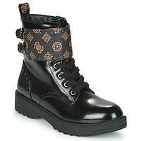 Zapatos Mujer Botas de caña baja Guess WANDA Negro