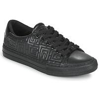 Zapatos Mujer Zapatillas bajas Guess GOLDENN Negro