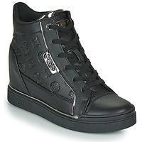 Zapatos Mujer Zapatillas altas Guess FABIA Negro