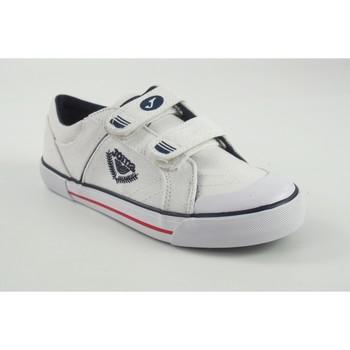 Zapatos Niño Zapatillas bajas Joma Lona niño  park 2002 blanco Blanco