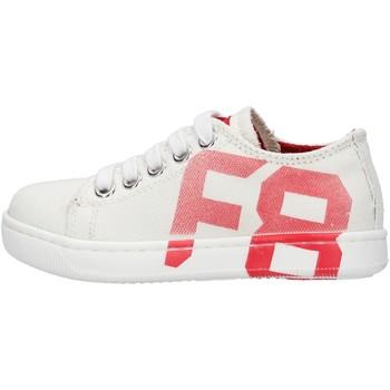 Zapatos Niño Zapatillas bajas Falcotto - Sneaker bianco ALANIS-1N10 BIANCO
