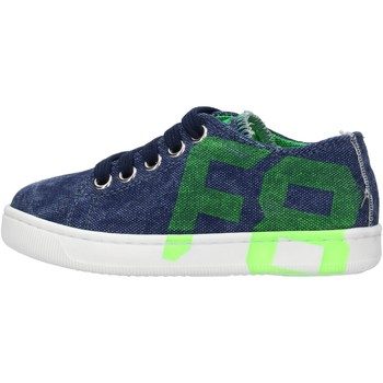 Zapatos Niño Zapatillas bajas Falcotto - Sneaker blu ALANIS-1C90 BLU