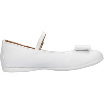 Zapatos Niña Deportivas Moda Platis - Ballerina bianco P2077-10 BIANCO