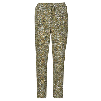 textil Mujer Pantalones fluidos Ikks BR22005 Kaki