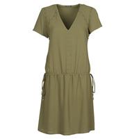 textil Mujer Vestidos cortos Ikks BR30015 Kaki