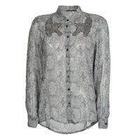 textil Mujer Camisas Ikks BR12055 Negro