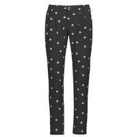 textil Mujer Pantalones fluidos Ikks BR22125 Negro