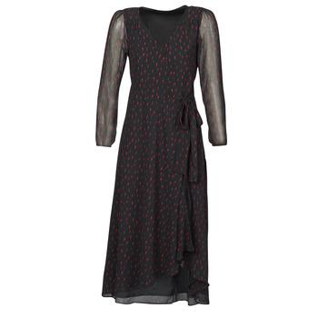 textil Mujer Vestidos largos Ikks BR30225 Negro