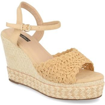Zapatos Mujer Sandalias Milaya JC-5R10 Beige