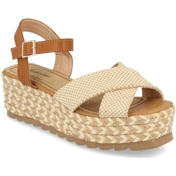 Zapatos Mujer Sandalias Festissimo W18-08 Beige