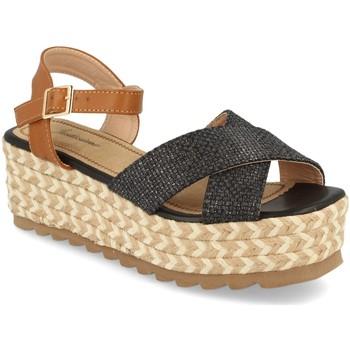 Zapatos Mujer Sandalias Festissimo W18-08 Negro