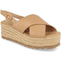 Zapatos Mujer Sandalias Festissimo W18-09 Beige