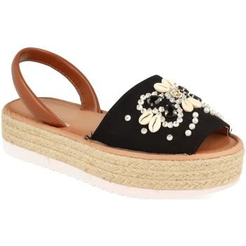 Zapatos Mujer Sandalias H&d WH-67 Negro