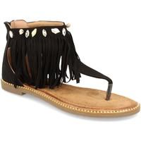 Zapatos Mujer Sandalias H&d WH-69 Negro