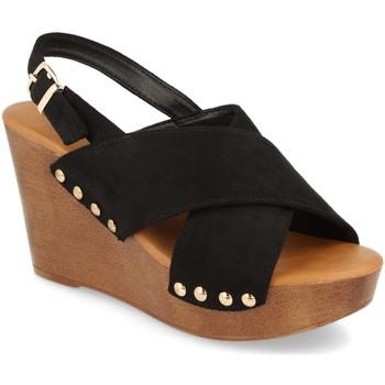 Zapatos Mujer Sandalias Prisska Y5627 Negro