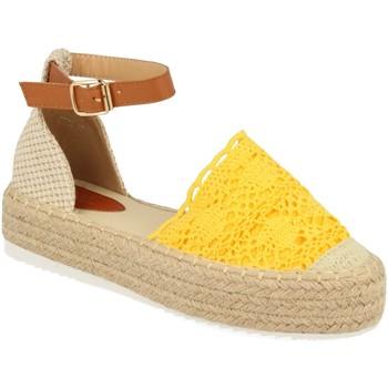 Zapatos Mujer Alpargatas H&d YT30 Amarillo