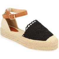 Zapatos Mujer Alpargatas H&d YT30 Negro