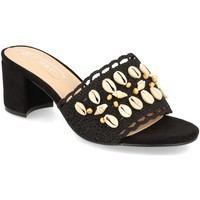 Zapatos Mujer Zuecos (Mules) H&d YZ19-150 Negro