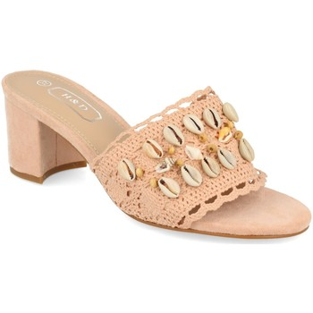Zapatos Mujer Zuecos (Mules) H&d YZ19-150 Rosa