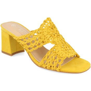 Zapatos Mujer Zuecos (Mules) H&d YZ19-68 Amarillo