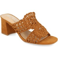 Zapatos Mujer Zuecos (Mules) H&d YZ19-68 Camel