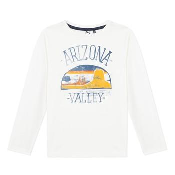 textil Niño Camisetas manga larga 3 Pommes 3R10005-19-C Blanco