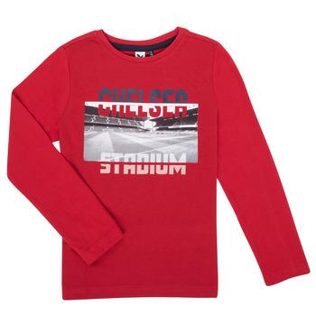 textil Niño Camisetas manga larga 3 Pommes 3R10015-37-C Rojo