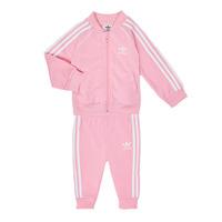 textil Niña Conjunto adidas Originals SST TRACKSUIT Rosa