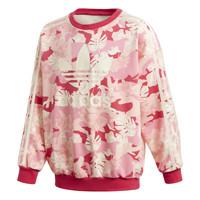 textil Niña Sudaderas adidas Originals CREW Rosa