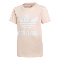 textil Niña camisetas manga corta adidas Originals TREFOIL TEE Rosa