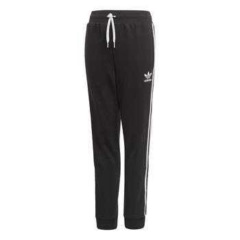 textil Niños Pantalones de chándal adidas Originals TREFOIL PANTS Negro