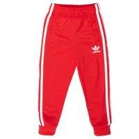 textil Niños Pantalones de chándal adidas Originals SST TRACKPANT Rojo