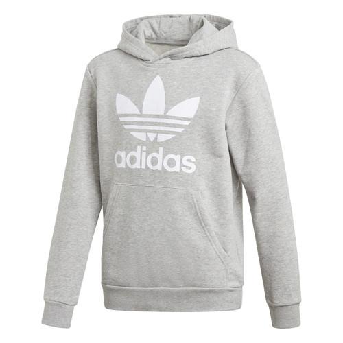 textil Niños Sudaderas adidas Originals TREFOIL HOODIE Gris