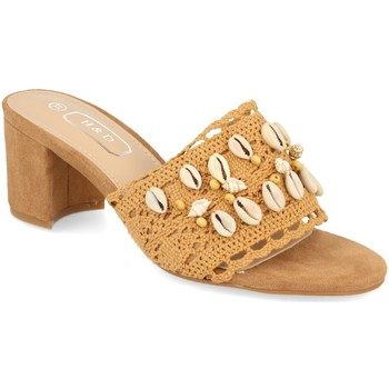 Zapatos Mujer Zuecos (Mules) H&d YZ19-150 Camel