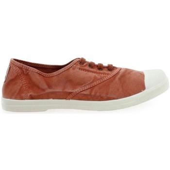 Zapatos Mujer Deportivas Moda Natural World Basket Wine 642-102E Naranja