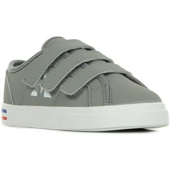 Zapatos Niños Deportivas Moda Le Coq Sportif Verdon Inf Premium Gris