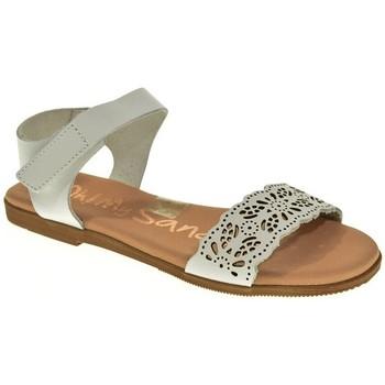 Zapatos Niña Sandalias Oh My Sandals SANDALIA NIÑA  BLANCO Blanco