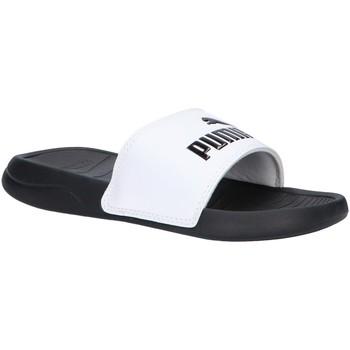 Zapatos Niños Chanclas Puma 372313 POPCAT Blanco