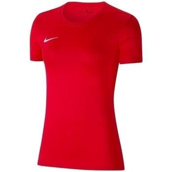 textil Mujer Camisetas manga corta Nike Womens Park Vii Rojos