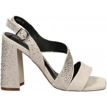 Zapatos Mujer Sandalias Luciano Barachini CAMOSCIO ghiaccio